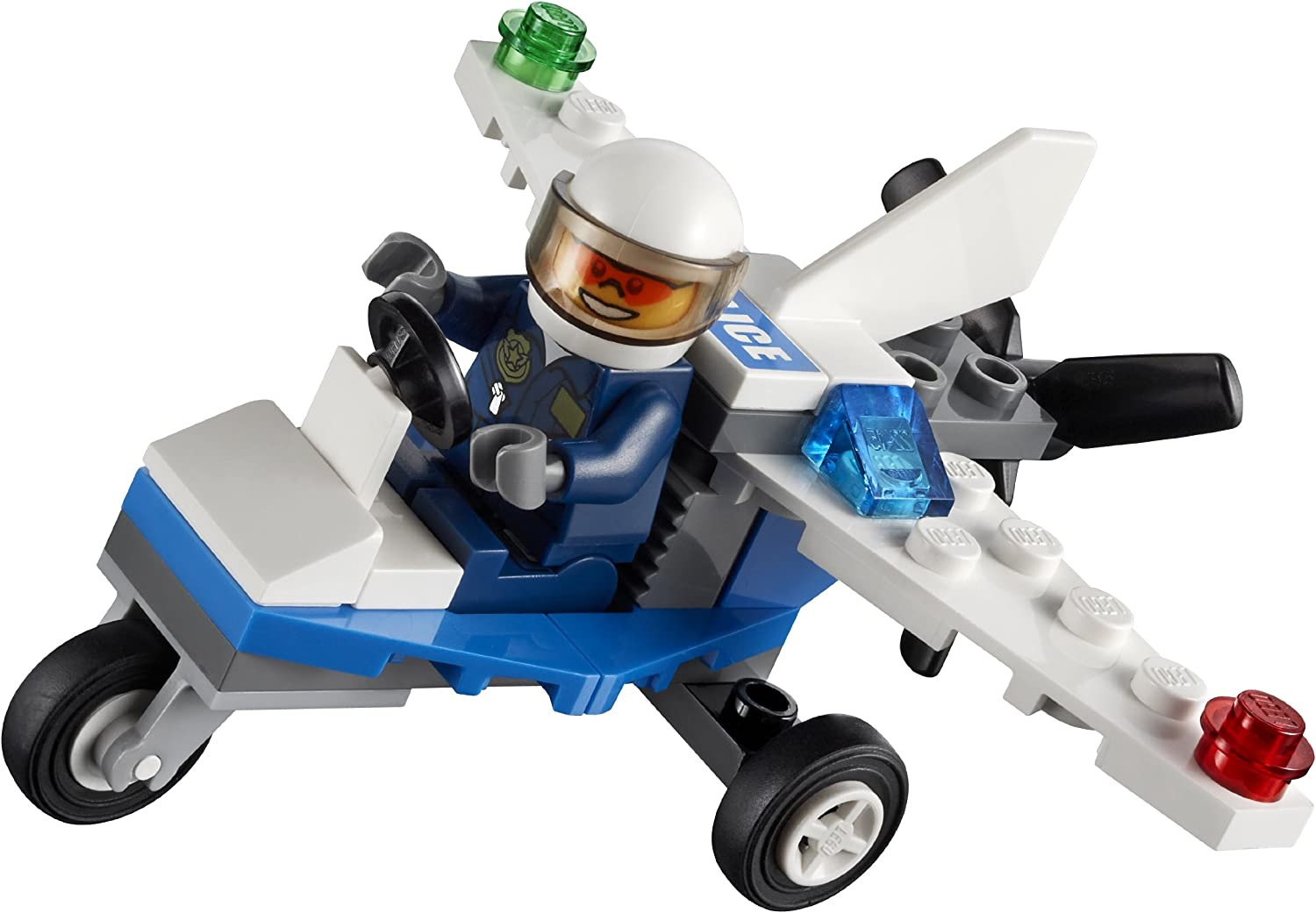 LEGO City Mini Figure Police Plane 30018 (Bagged)