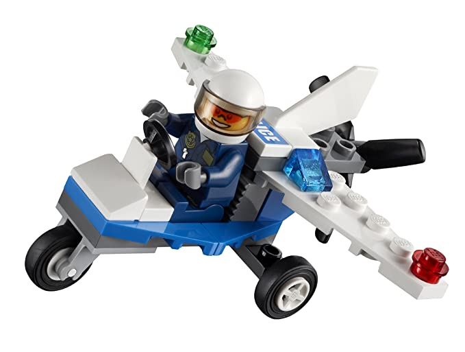 LEGO City: PolicíUn Avión Establecer 30018 (Bolsas): Amazon ...
