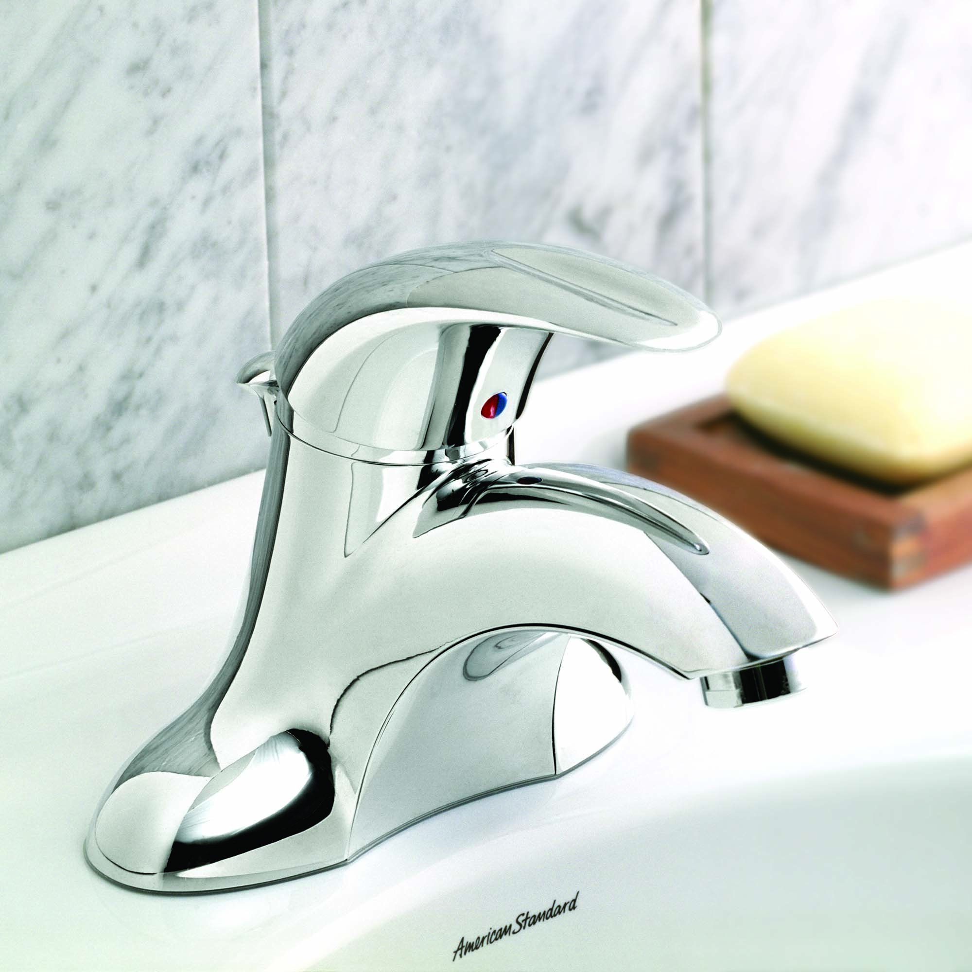 American Standard 7385.000.002 Reliant 3 Bathroom Centerset Faucet, Polished Chrome by American Standard (Image #2)