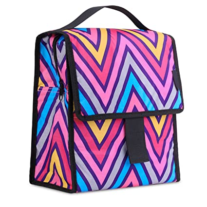 aa6f90681ce2 MoKo Insulated Lunch Bag, Reusable Foldable Lunch Box Collapsible Multi-use  Tote Bag Thermal Lunch Sack with Zipper Closure for Travel Picnic School ...