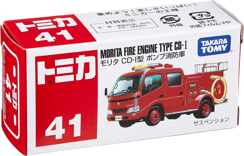 japan import Takara Tomy Tomica #041 Morita Fire Engine Type CD-I