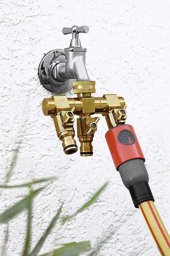 UPP Products Wasserverteiler 3 Wege für 1/2