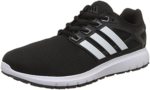 5a561237ade8 Adidas Men s Energy Cloud WTC M Cblack Ftwwht Cblack Running Shoes - 10 UK