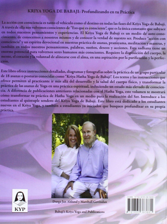 Kriya Yoga De Babaji: Amazon.es: Ahlund Govindan: Libros