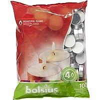 Bolsius - Velas para Interiores y Exteriores, duración: