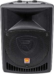 Rockville RPG8 Powered Active 400 Watt 2-Way DJ PA Speaker System, 8 inch