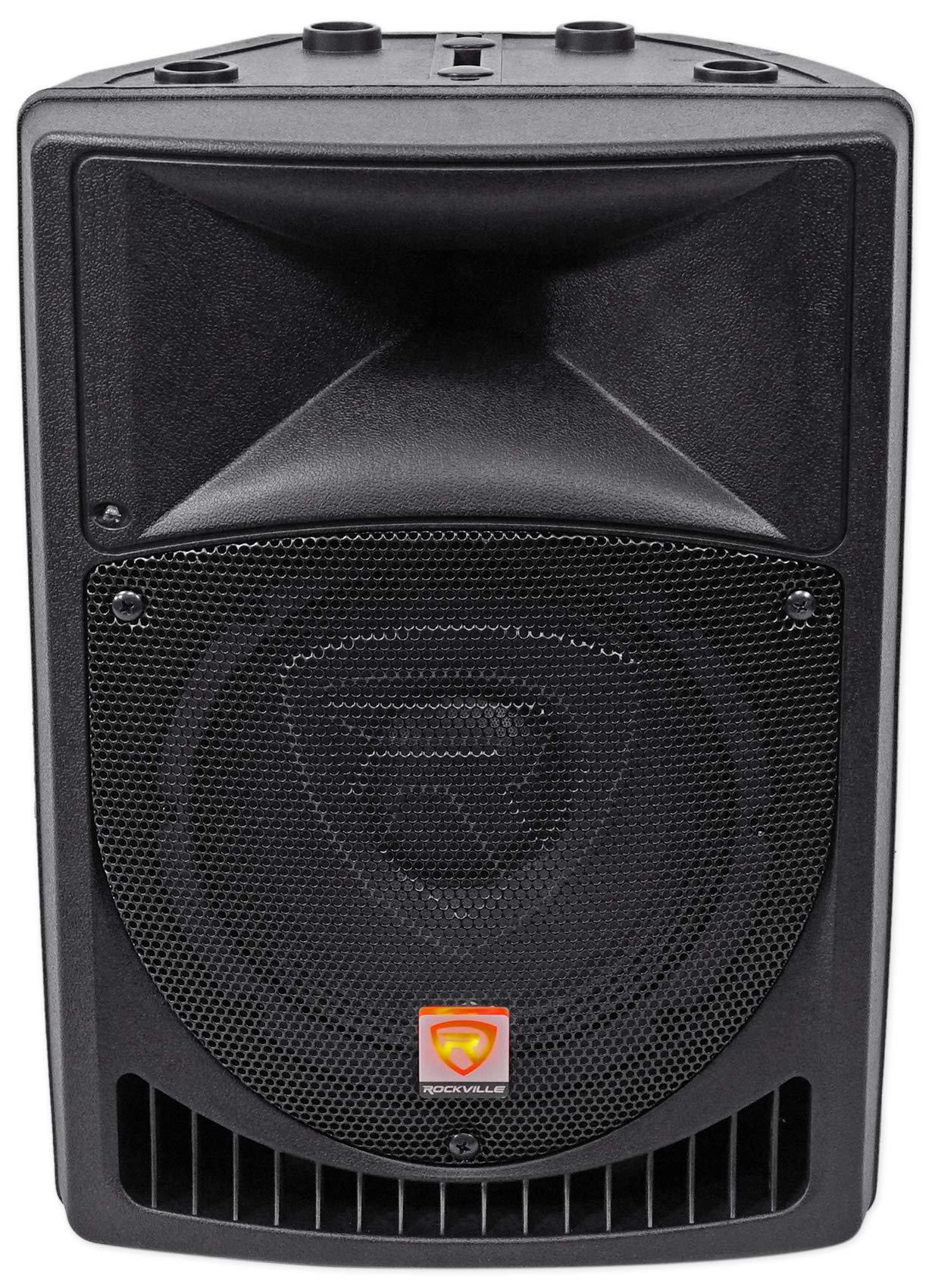 Rockville RPG8 8'' Powered Active 400 Watt 2-Way DJ PA Speaker System by Rockville