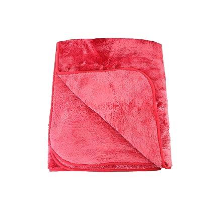Amago Manta de sofá, Sensación de Cachemira, Rojo, 130 x 170 cm, 40024-37-8020