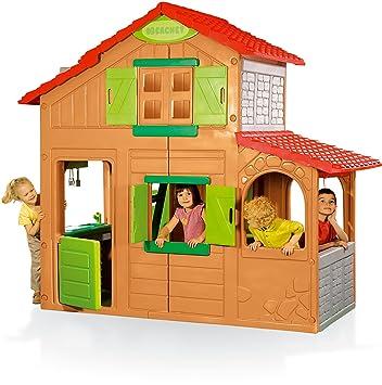 Smoby 320020 - Duplex Spielhaus: Amazon.de: Spielzeug