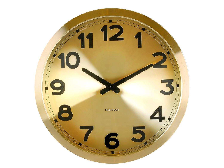 Present time 壁掛け時計 / ゴールド KA5408GO B007UQ2NY8