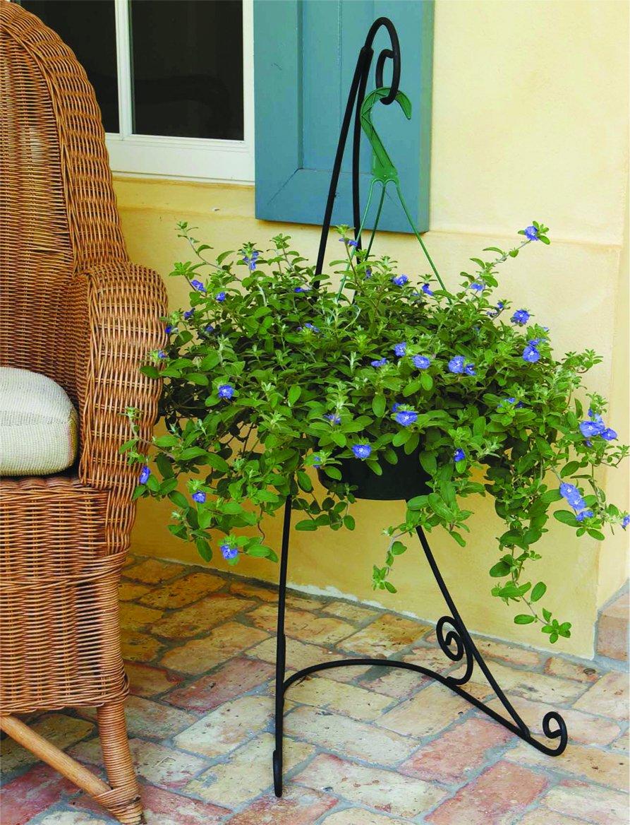 Plastec 40-Inch Black The Veranda Plant Stand VSB1 by Plastec (Image #5)