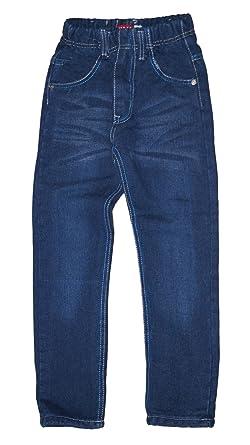 suche nach authentisch billiger Verkauf amazon Thermojeans Thermohose Schneehose gefütterte Jungen Kinder Jeans warm Gr  110-152, Grösse Bekleidung:116;Farbe:Blau