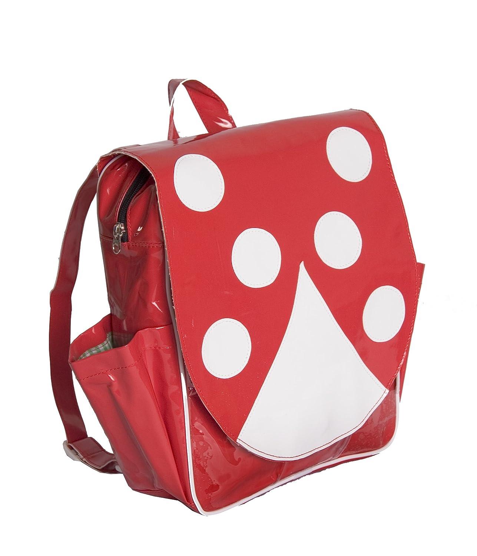 Minene Animal Themed Child Backpack Bag Ladybird (Red)