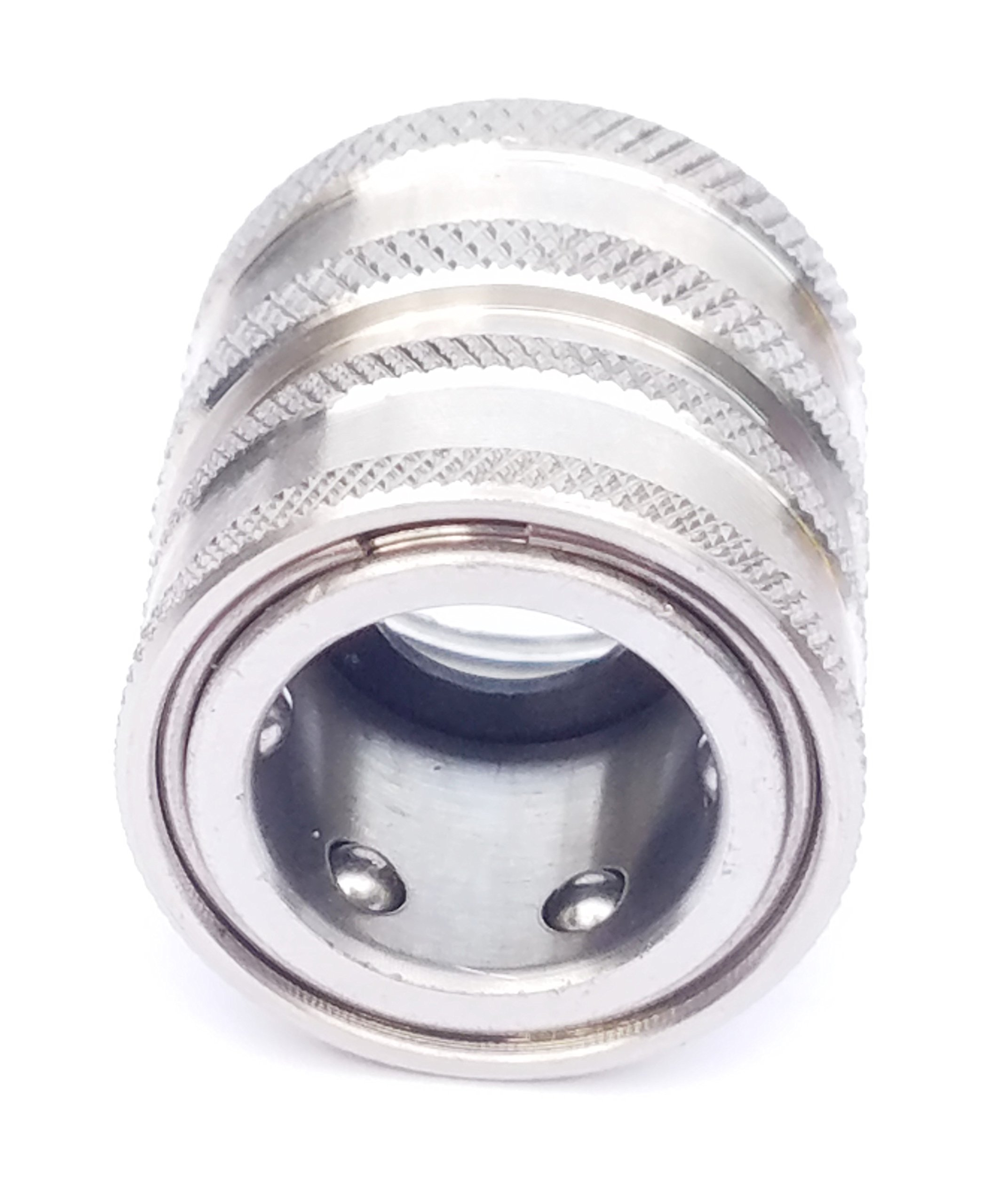 Sellerocity Brand Pressure Washer Quick Connect 1/2'' Female Socket X 3/4'' Female Garden Hose Connector, Replaces General D10012 by Sellerocity