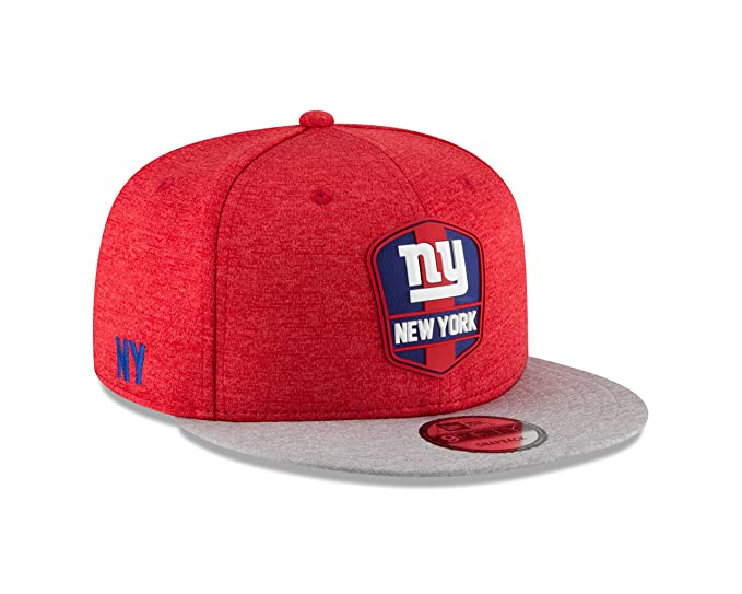 84b27284a73a74 New Era New York Giants 2018 NFL Sideline Road Official 9FIFTY Snapback Hat