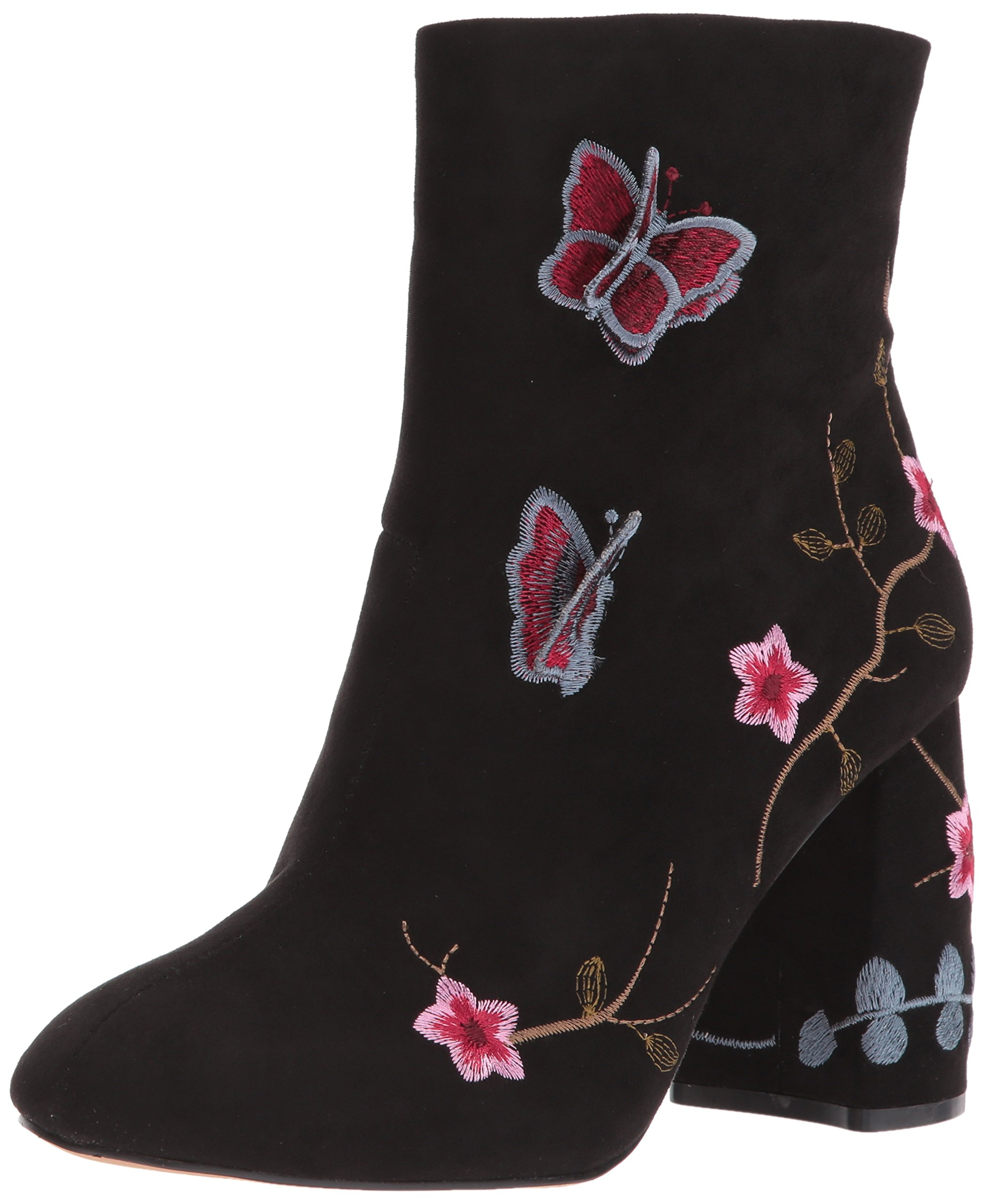 Nanette Lepore Women's Lilly Ankle Boot, Black, 7 M US
