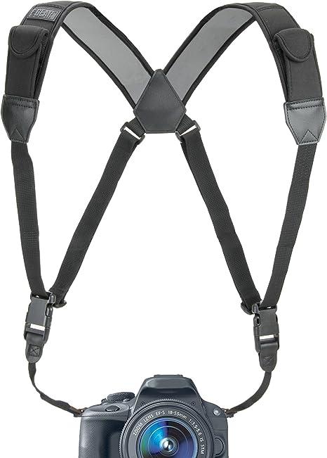 Amazon.com: Arnés para correa de cámara con cómodo neopreno ...