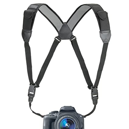 81d%2BVelUBCL._SX425_ amazon com usa gear dslr camera strap chest harness with black