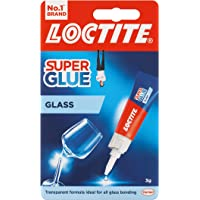 Loctite Glass Bond, High-Quality Glass Glue, Instant Super Glue for Glass, Easy to Use and Durable Clear Glue for Long…