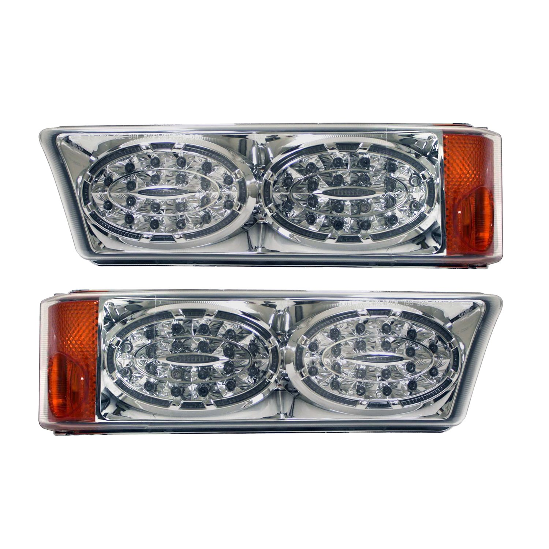 APC 403462PLD Chevrolet Silverado Diamond Cut Parking Light, Side Marker and Turn Light Assembly