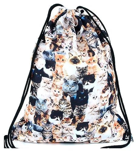 Kukubird - Bolso mochila para mujer Gatos: Amazon.es: Zapatos y complementos