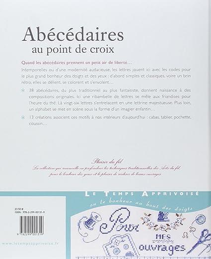Amazon Lta Abecedaires Au Point De Croix ¯ロスステッチ図案集 Õランス語 ňºã—ゅう図案 ɀšè²©