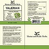 Mortar and Pestle Herbs Pure Organic Valerian