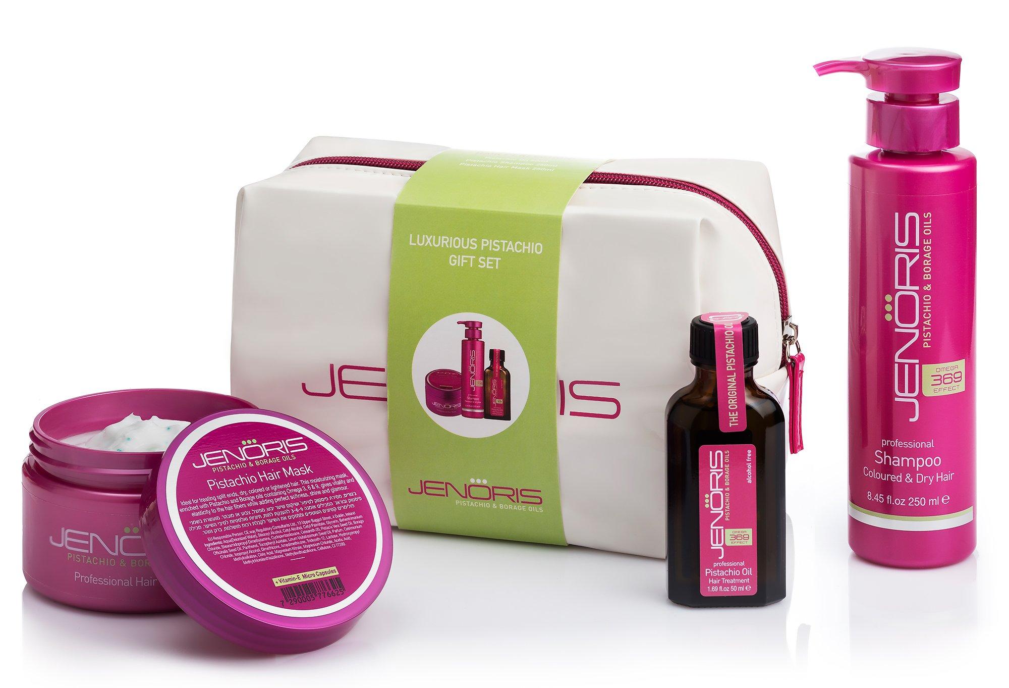 Jenoris Pistachio Oil Kit Hair Treatmen Buy Online In China At Desertcart