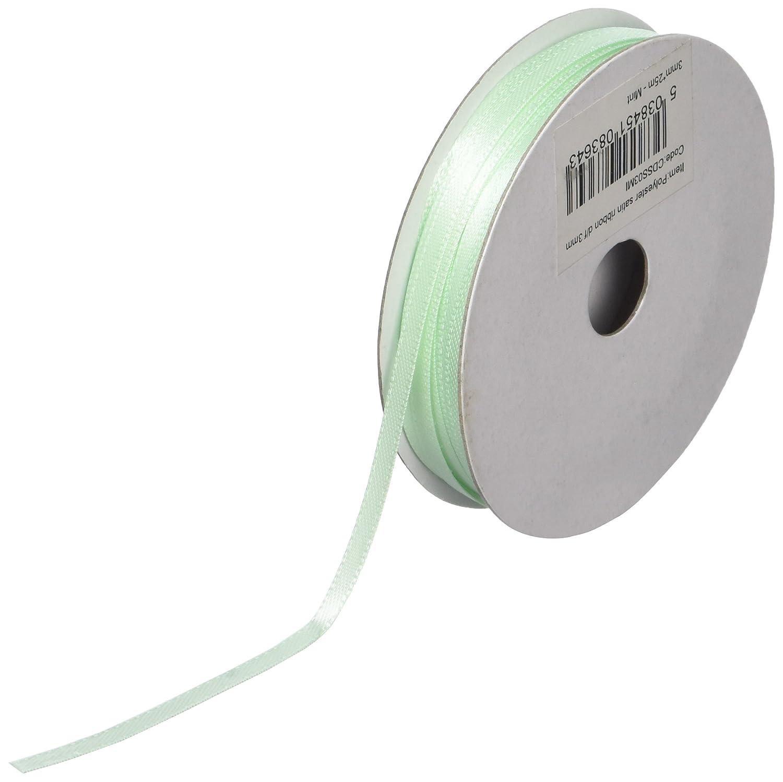 Minze 3/mm x 25/m Club Green Doppelsatinband