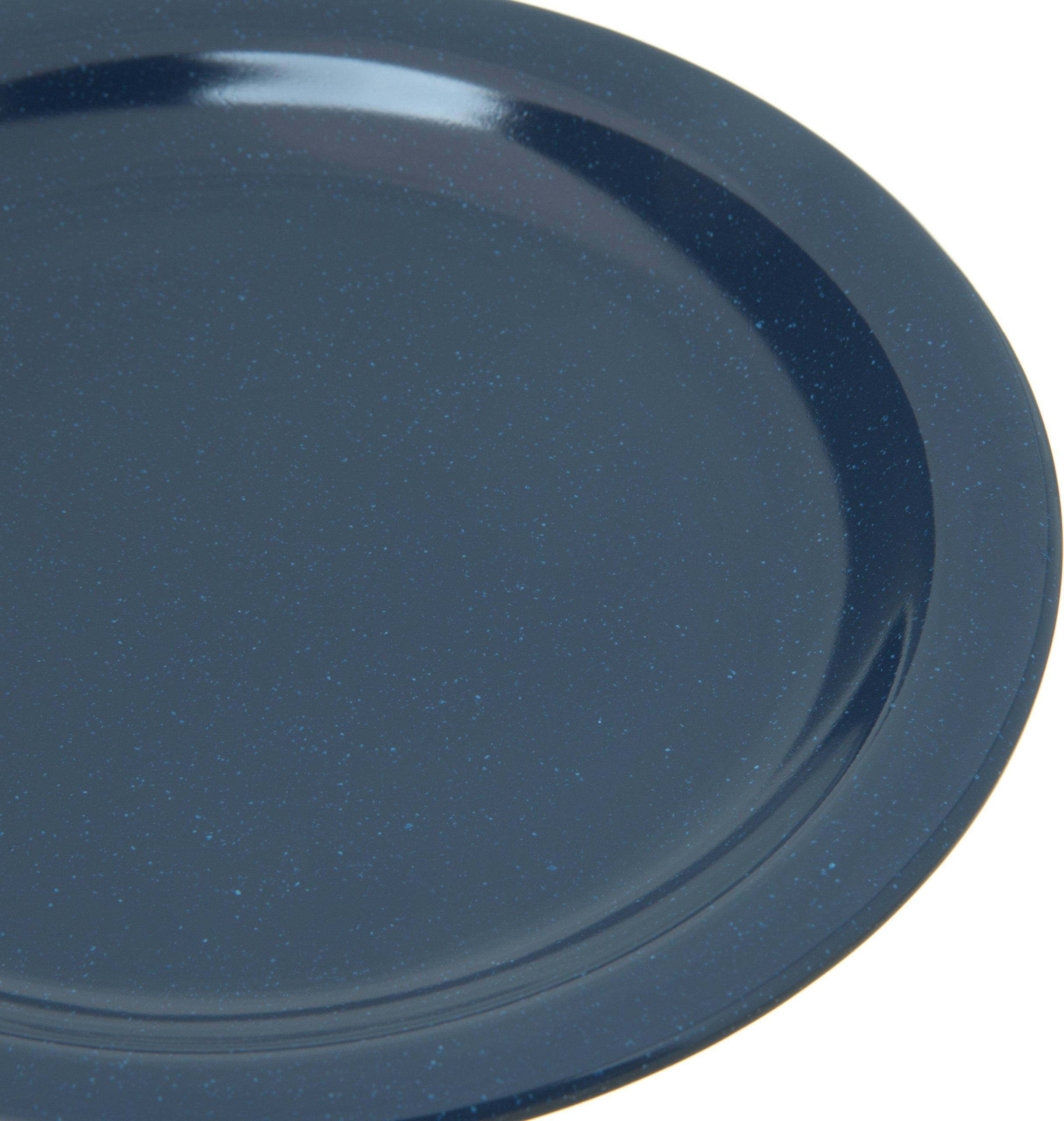 Carlisle 4350335 Dallas Ware Melamine Salad Plate, 7.19'' Diameter x 0.74'' Height, Café Blue (Case of 48) by Carlisle (Image #1)