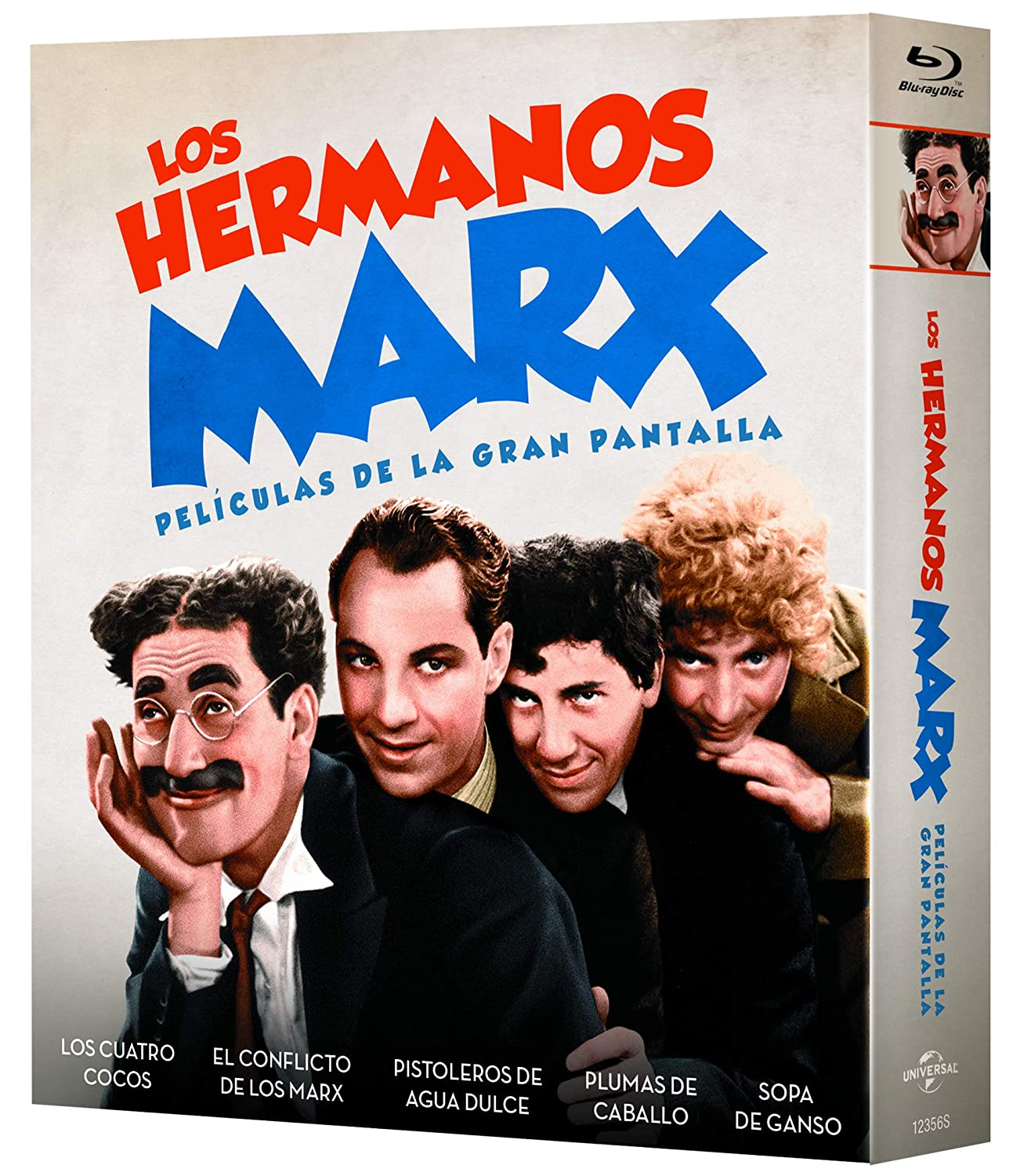 Pack: Hermanos Marx (5 películas BD) [Blu-ray]: Amazon.es: Groucho ...