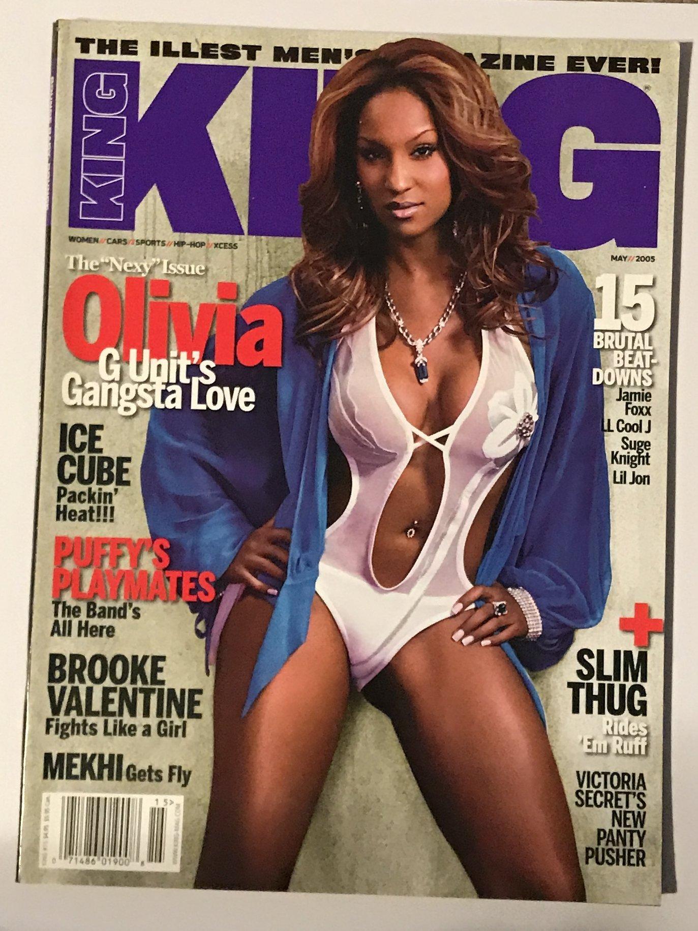 Read Online King Magazine May 2005 - Olivia, Ice Cube, Brooke Valentine pdf