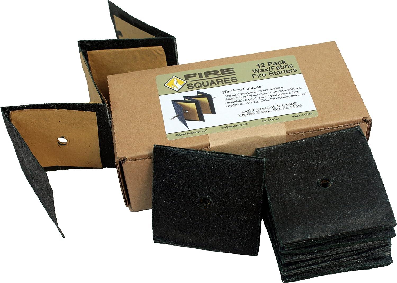Fuego Squares, fácil instantánea Fire Starters para madera ...