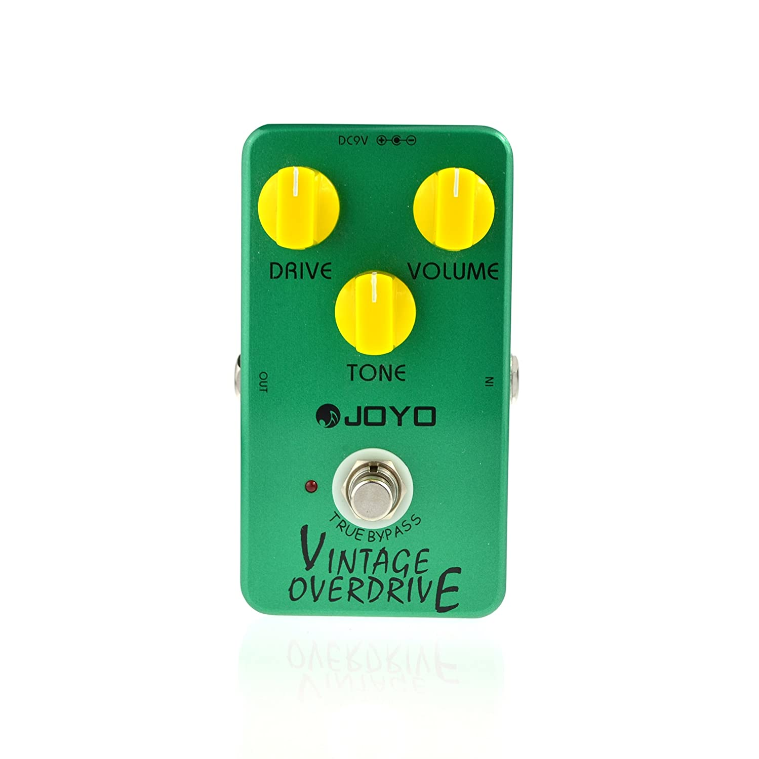 joyo jf 01 vintage overdrive guitar effect pedal with