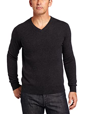7a3a3449fd86 Williams Cashmere Men s 100% Cashmere V-Neck Sweater at Amazon Men s ...