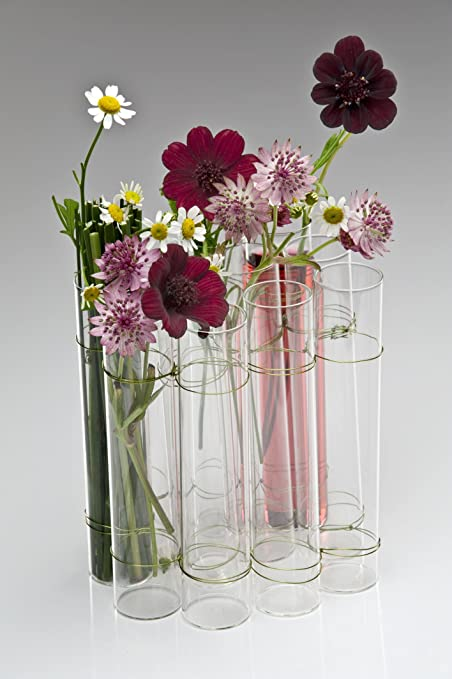 Glass Vase TEST TUBE, 14cm