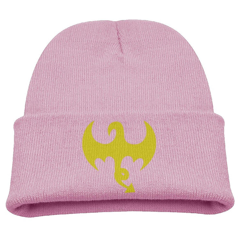Iron Fist Dragon Logo Cap Toddler Woolen Knit Hat