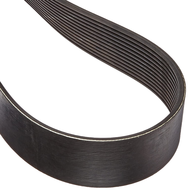 10 Rib Gates 725L10 Micro-V Belt L Section 72.5 Length 1-7//8 Width 725L Size