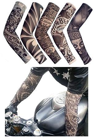 Itoolai Fake Temporary Tattoo Sleeves For Men And Women Unisex Dark