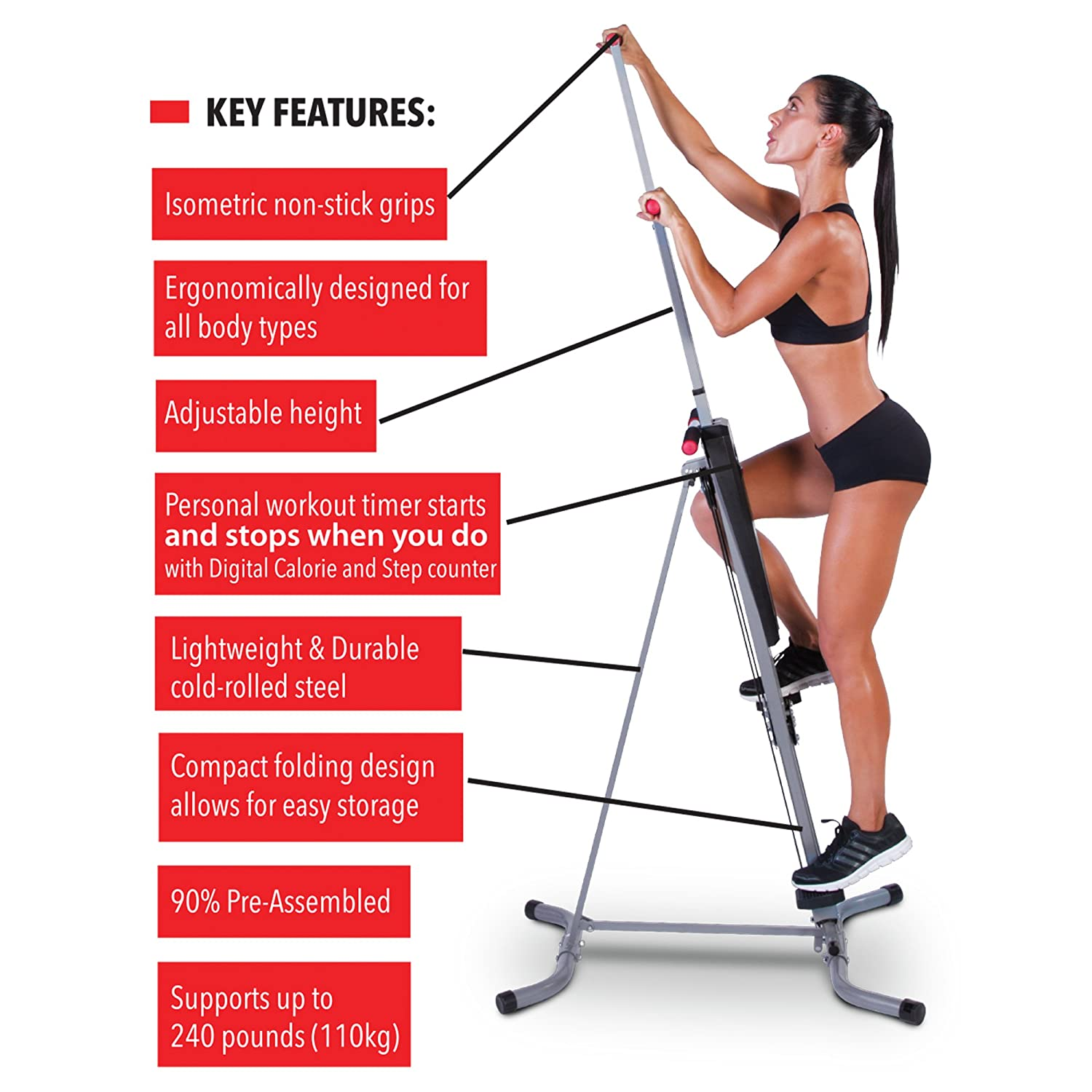 Home Gym Vertical Climber Review