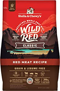 Stella & Chewy's Wild Red Classic Kibble Dry Dog Food