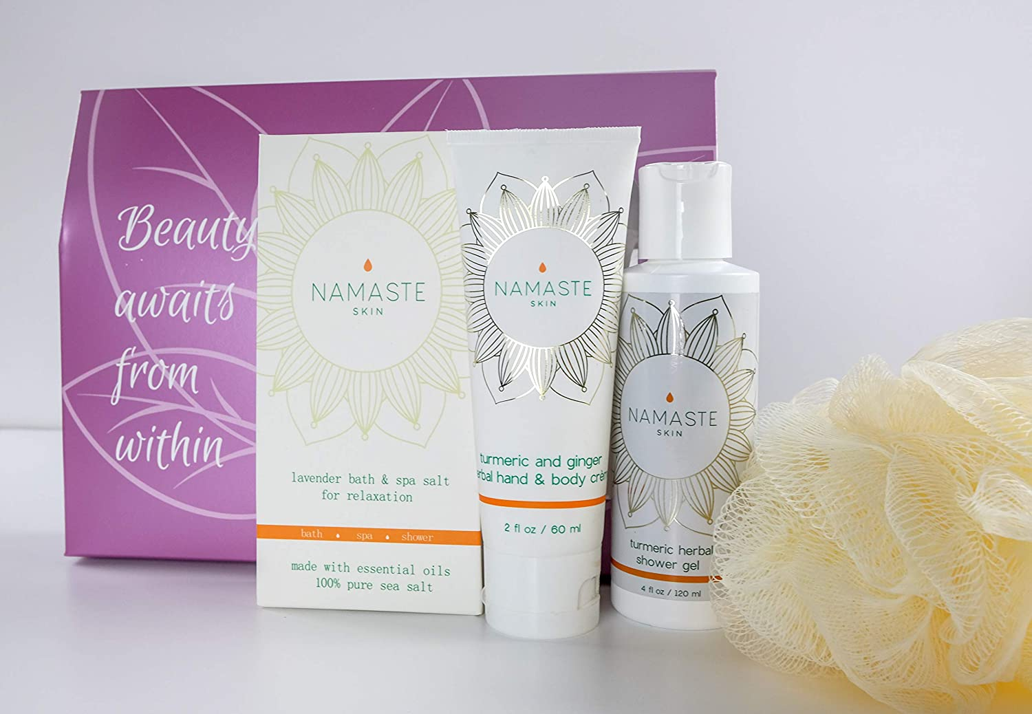 4e9ce80cb254 Valentine's Month Special Sale! Home Spa Bath and Body Natural Skin Care  Gift Sets By Namaste...
