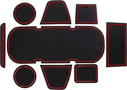 CupHolderHero for Subaru BRZ, Toyota 86, and Scion FR-S 2012-2020 Custom Liner Accessories – Premium Cup Holder and Center Console Inserts 9-pc Set ...