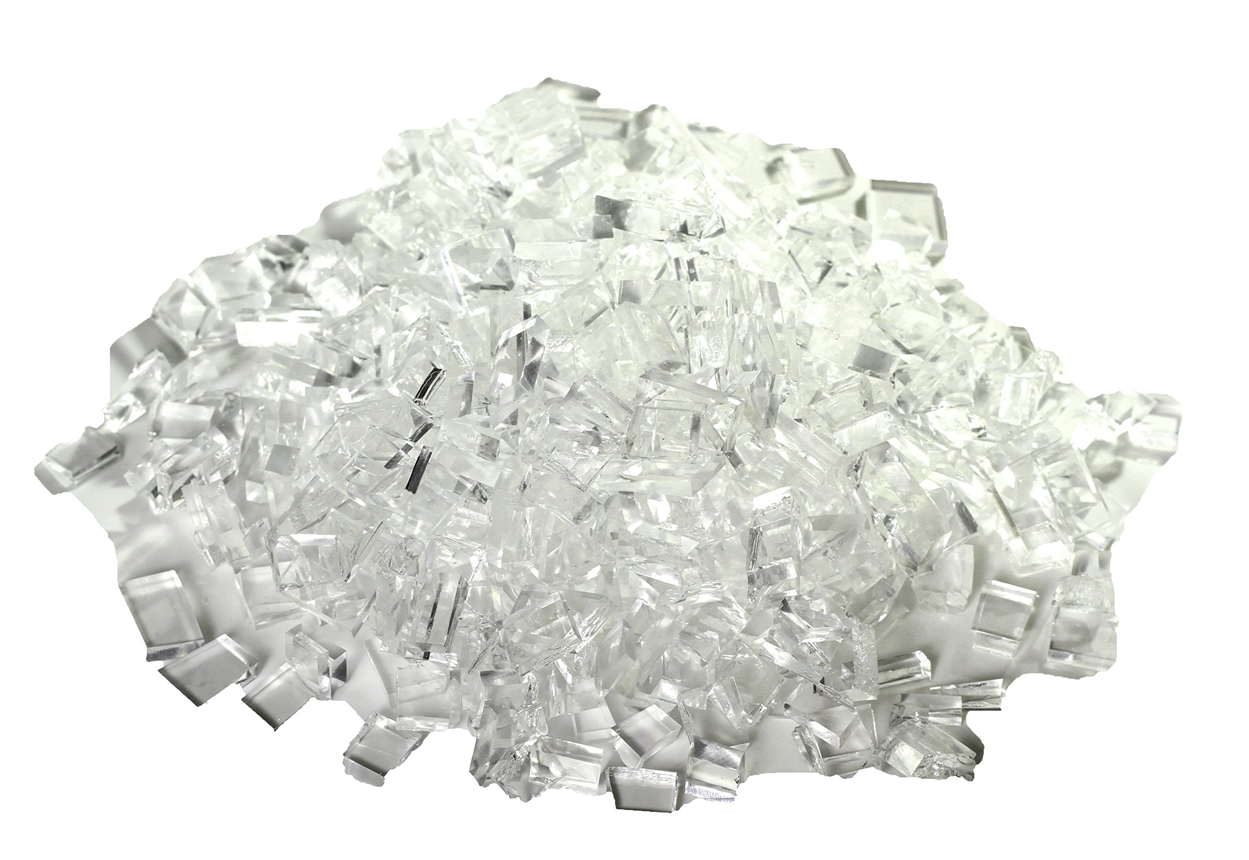 Rubber Glass Broken Safety Glass or Tempered Style Professional Movie or Theatre Props - 1lb Pack by NewRuleFX (Image #2)