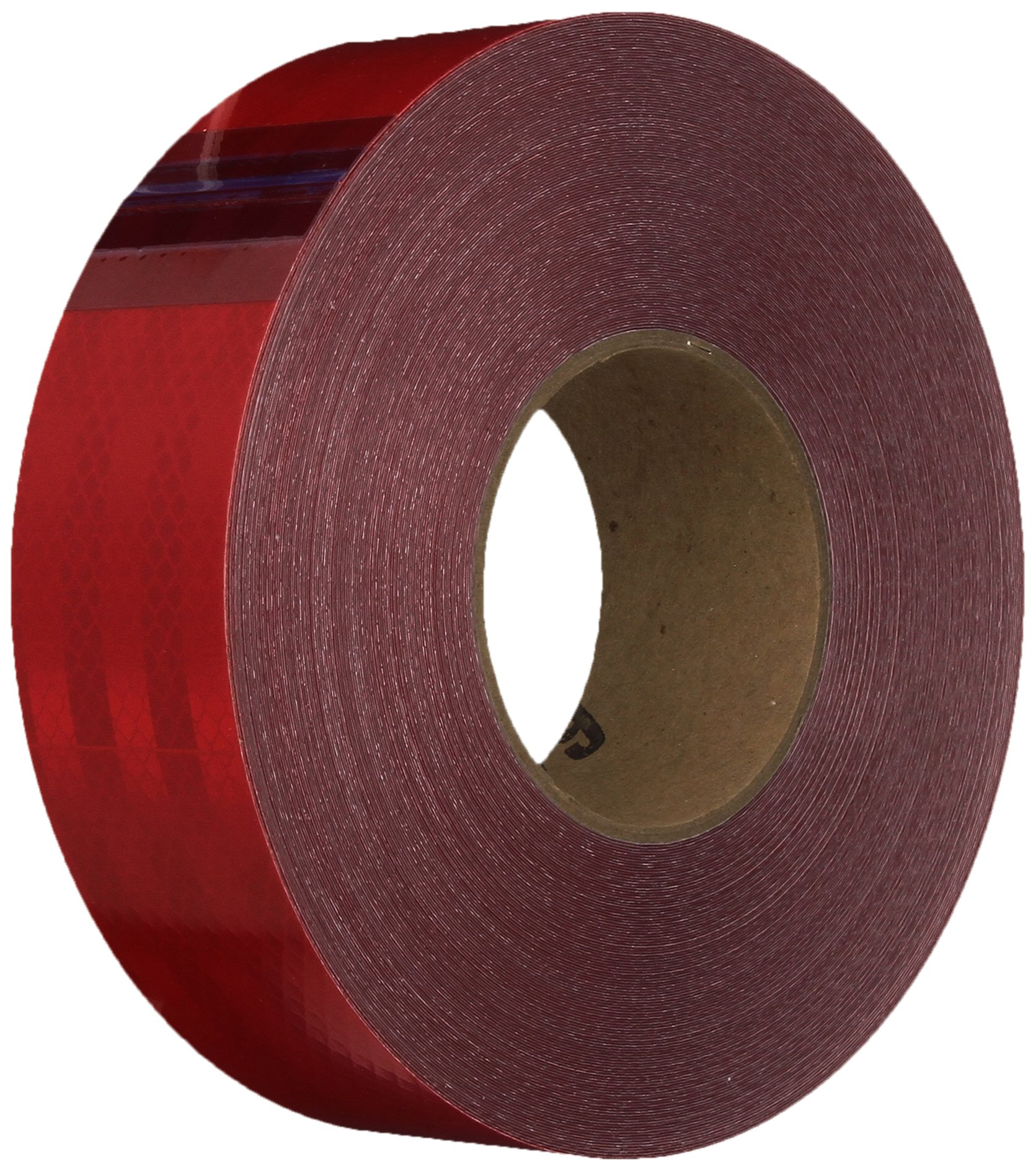 3M 3432 Red Micro Prismatic Sheeting Reflective Tape – 2 in. X 150 ft. Non Metalized Adhesive Tape Roll. Safety Tape