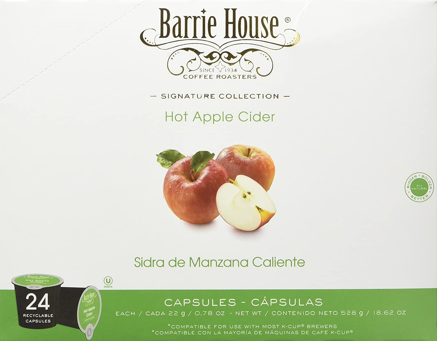 Barrie House Hot Apple Cider Single Cup Capsules (96 Capsules): Amazon.com: Grocery & Gourmet Food