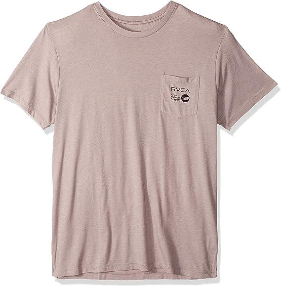 RVCA Matus Wings - Camiseta de manga corta con bolsillo para hombre: Amazon.es: Ropa y accesorios