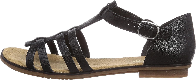 Rieker Femme Sandales 64288 Dame Sandale /à lani/ères