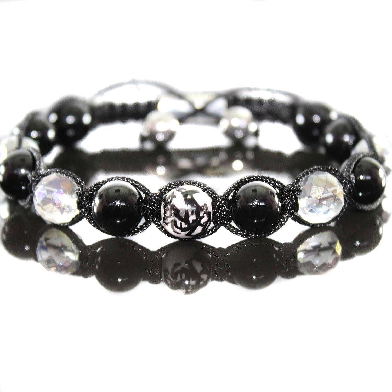 Damen Tiger Eye Edelstein Howlite Rock Perlen Armband//Armschmuck  für Frauen