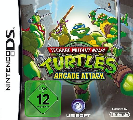 Teenage Mutant Ninja Turtles: Arcade Attack [Importación ...